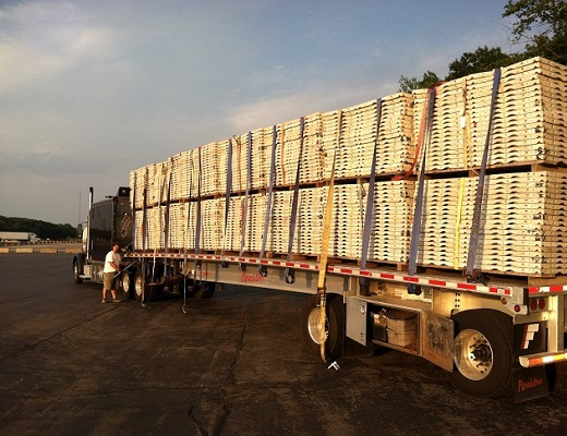 how to secure a flatbed load