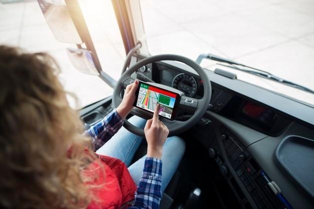 truck driver gps navigation