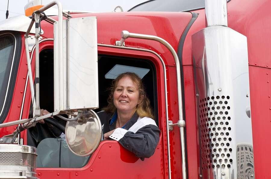 truck driving for women